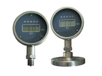 智能数显压力计采用扩散硅传感器,陶瓷传感器为测量元件,运用单片机技