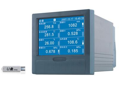 HSB-500R蓝屏无纸记录仪